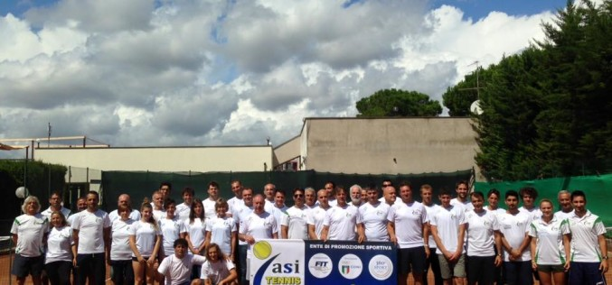 Aggiornamento Nazionale ASI Tennis