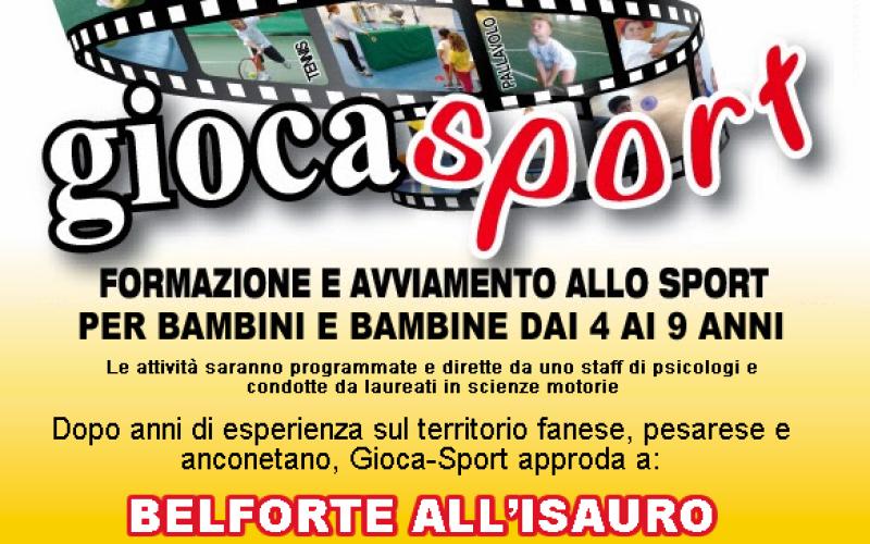 Progetto GIOCASPORT