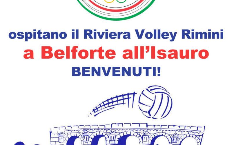 Riviera Volley Rimini in ritiro a Belforte