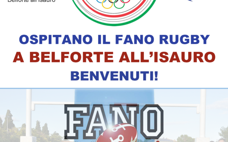 Fano Rugby a Belforte all'Isauro
