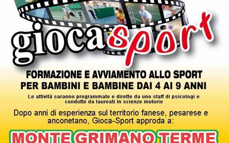 Giocasport a Monte Grimano Terme