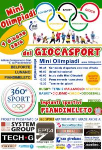 miniolimpiadi giocasport a scuola