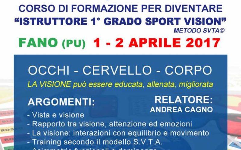 Corso di Formazione Istruttore Sport Vision ASI – ONLINE