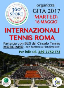 gita internazionali roma 2017 360 sport