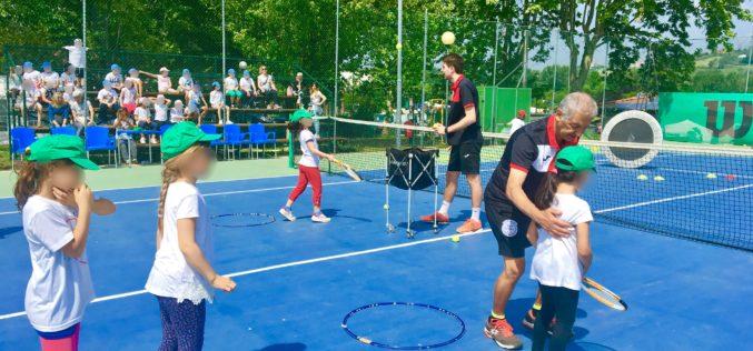 Festa delle Scuole di Morciano: super presenza del Circolo Tennis con 4 stazioni su 11!