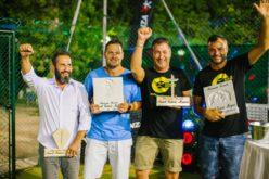 Tennis, goliardia e divertimento, a Morciano va in scena il torneo 'Concentrazia': 30 atleti in campo tra debuttanti e vecchie glorie