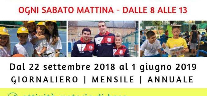Sabato mattina 'A scuola di sport': il progetto del Circolo Tennis di Morciano per dare una risposta ai bambini delle scuole elementari e alle loro famiglie