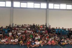 Sorpresa a Morciano: bambini e ragazzi del centro estivo sportivo incontrano i campioni