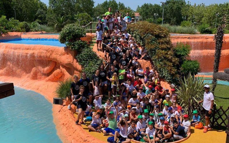 Morciano: bambini e ragazzi di '360 Sport' pronti alla trasferta al parco San Marino Adventures