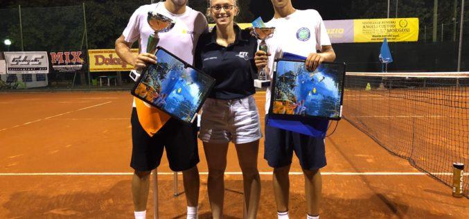 Sessanta racchette in campo a Morciano per il torneo d'estate Fit singolare maschile di terza categoria